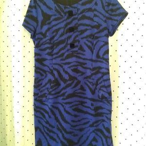 Black/Blue Michael Kors Dress